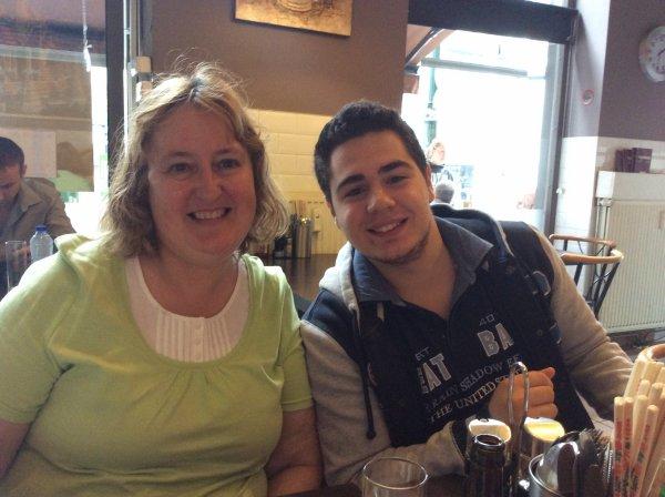 Restaurant avec Domenico et ma fille le mercredi 06/08/2014