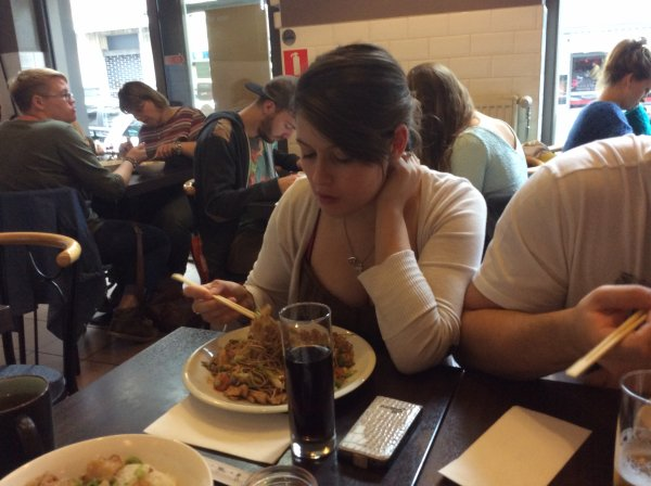 Restaurant avec Domenico et ma fille le jeudi 11/09/2014
