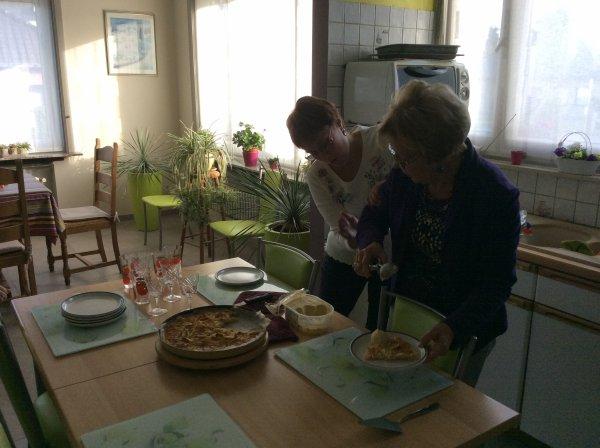 Fête de la Toussaint chez ma soeur Renée le dimanche 02 novembre 2014