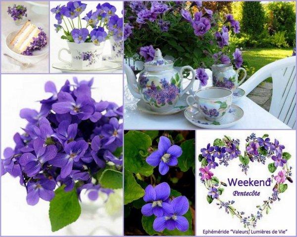 Je vous souhaite un bonne après-midi et une excellente fête de Pentecôte
