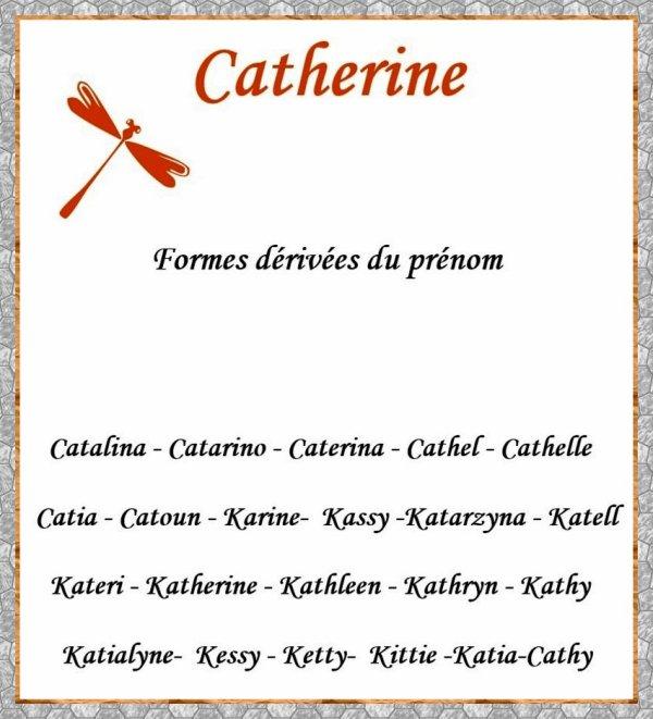 Cadeau de mon ami Christian pour la Sainte Catherine