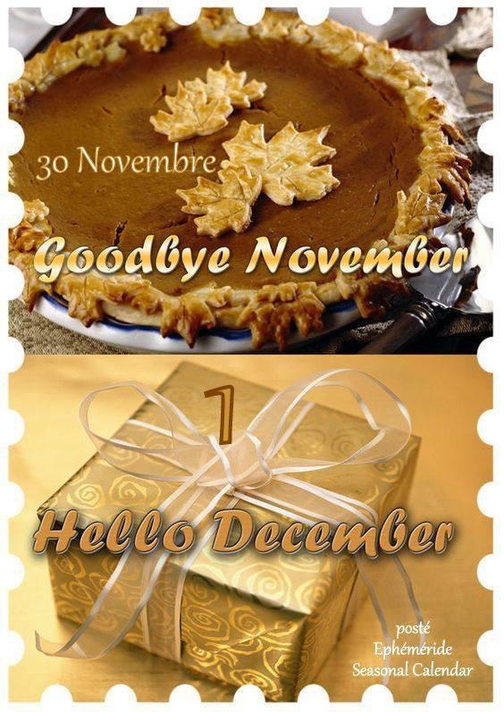 Hello Décembre **MOIS DE NOËL**Le temps file...