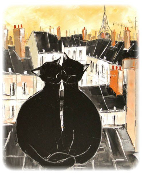 les chats noirs de JIEL