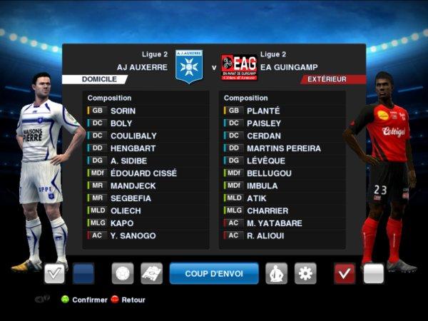 Patch Ligue 2 en développement !