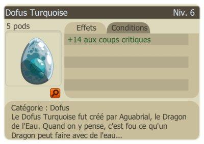 1er Dofus Turquoise ! :D