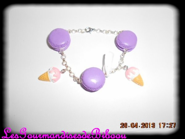 ~~ Bracelet Macaron ~~