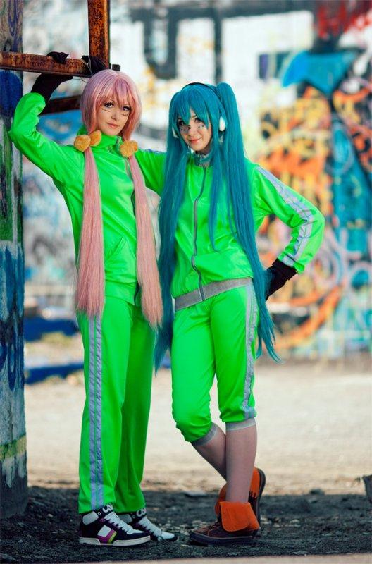 Miku & Luka - Vocaloid