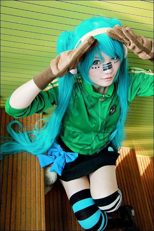 Miku Hatsune - Vocaloid (Matryoshka)