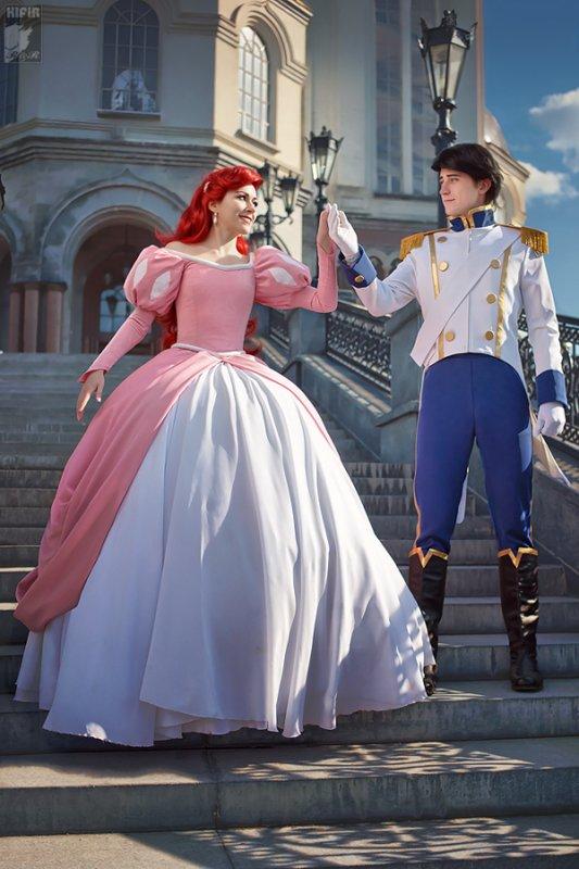 Ariel & Eric - La petite sirène