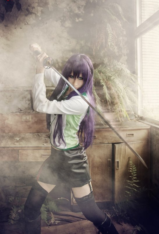 Saeko busujima - High school of the dead