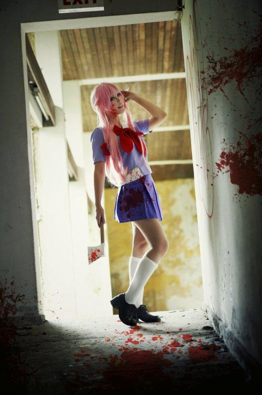 Mirai Nikki - Yuno Gasai