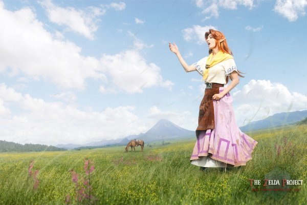 Malon & Link - The legend of Zelda
