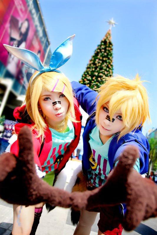 Len & Rin (Matryoshka) - Vocaloid