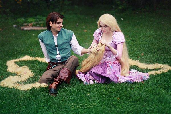 Raiponce & Flynn - Raiponse (Disney)