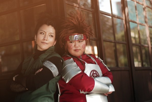 Shikamaru, Choji & Ino - Naruto.