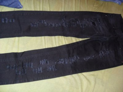 Jeans troué