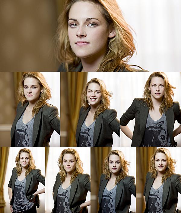 """. Photoshoot : Découvrez de nouveaux portaits de Kristen datant de 2010. Ces portraits ont été pris à l'occasion de la promotion de son film """"Welcome To The Rileys"""". ."""