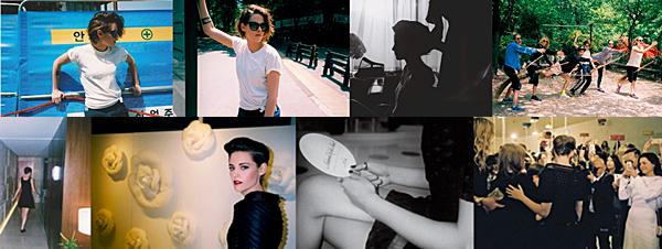 . Photoshoot : Nouvelles / Anciennes photos de Kristen du Seoul pour Chanel. Ces clichés ont été pris au Seoul avec l'équipe de Chanel donc la miss est l'égérie. .