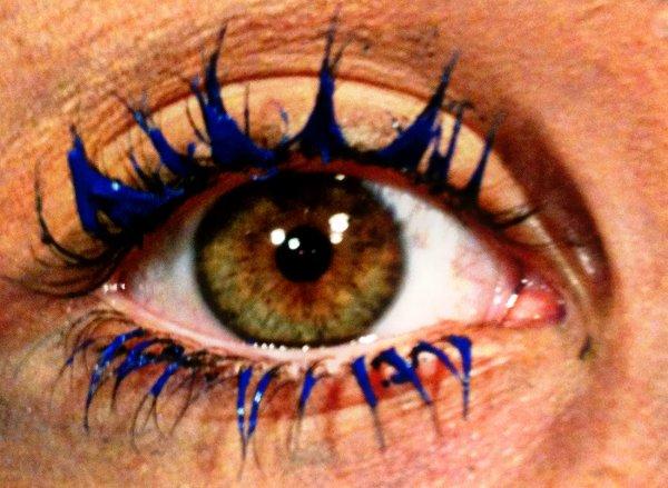 photographie de me yeux