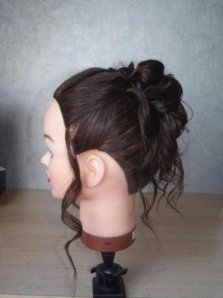 Tête à coiffer 2 ème essaie .