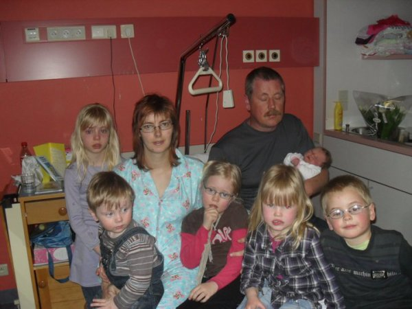 Mon frere sa femme et ses enfants