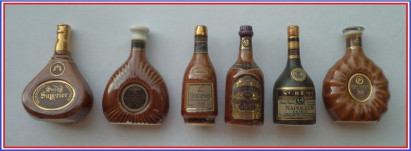 Ma collection: 2003-Les Cognacs