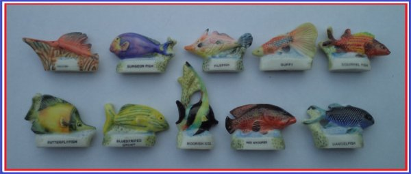 Ma collection: 2001 - Poissons du corail