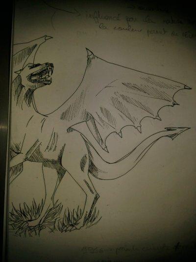 dragon, effaceur et femme fatale....