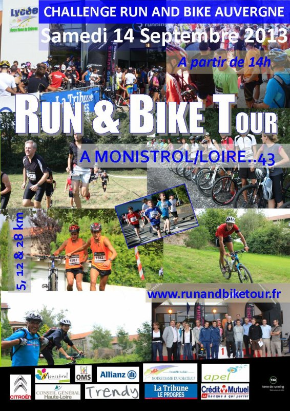 RUN and BIKE Monistrol