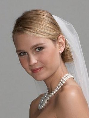 Coiffure Mariage Chignon Bas Avec Voile Organisatrice Mariages