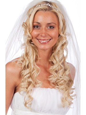 Coiffure Mariage Cheveux Blonds Boucles Organisatrice Mariages