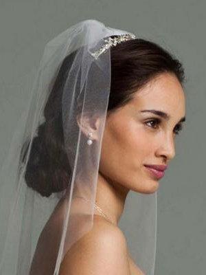 Coiffure Mariage Mi Long Avec Voile Organisatrice Mariages