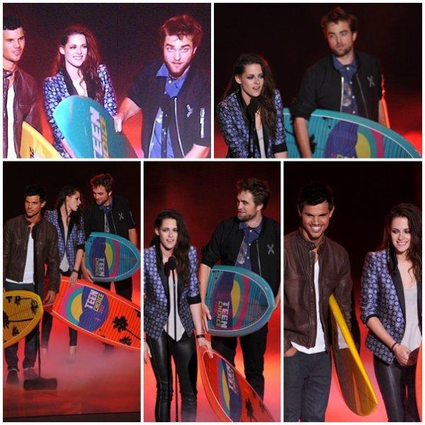 22.07.12 : Ceremonie des Teen Choice Awards