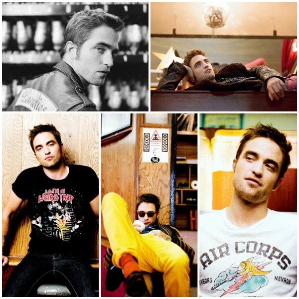 "Robert Pattinson Magazine ""Black Book"" - Septembre 2012"