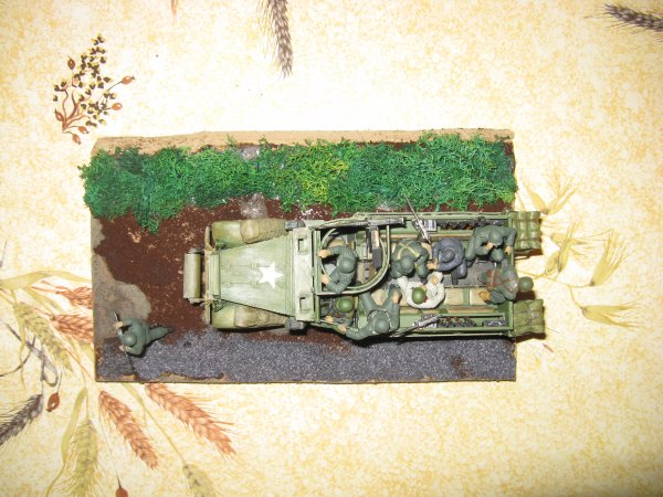 U,S AMOURED PERSONNEL CARRER M3A2 HALF TRACK