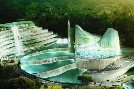 Futur parc station thermale cascade de lormont bordeaux news for Piscine lormont