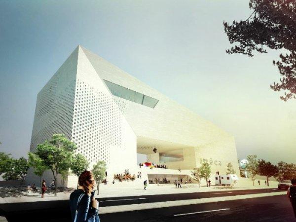 la future Maison de l'Economie Créative et de la Culture en Aquitaine (Méca)
