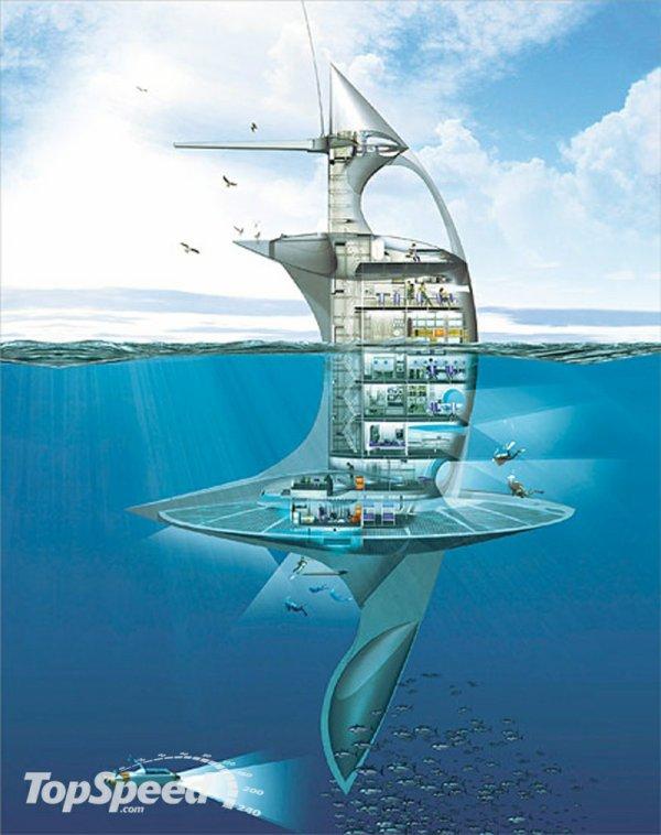 Découvrez le Nautilus du 21e siècle  bientot une ile pour chacun top cool!!