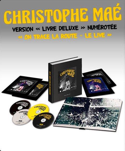 """On Trace La Route Le Live ! Version """"Livre Deluxe"""" numérotée !"""