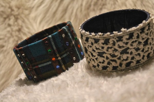 Bracelets manchettes : 13¤