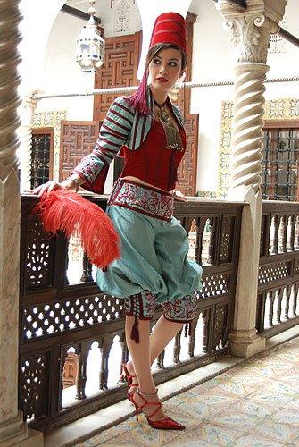 femme algerienne pour isabelle