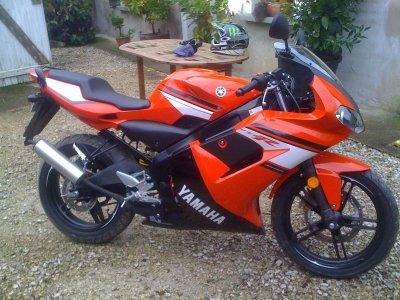 Début - Achat de la Tzr a Raff Moto Bayonne