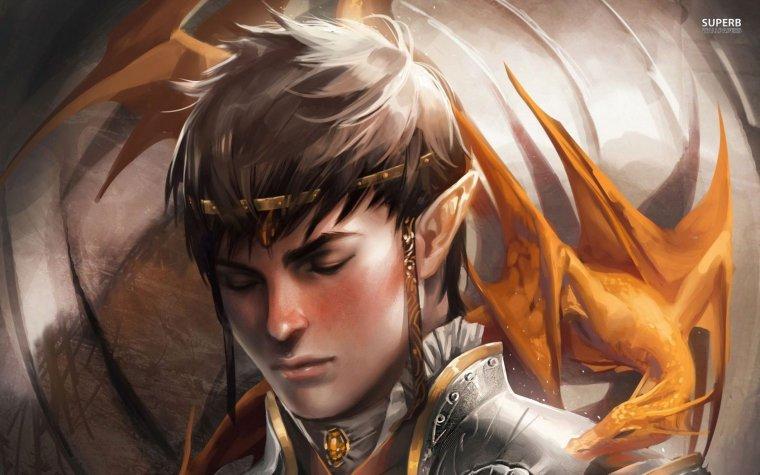 Agone - Membre du clan des elfes et Azenor - Chef du clan des sorciers