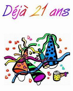 to days 21 years