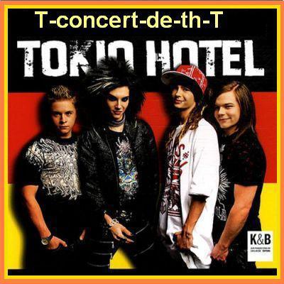 un certain concert o parc des prince et prévu pour tt plins de fan de tokiohotel !!