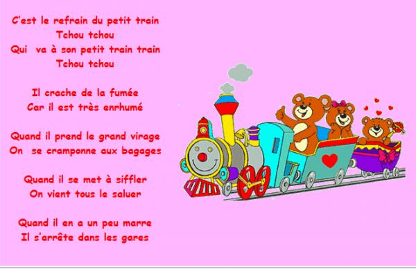 Nouvelle chanson au ram blog de tatanounou - Tchou tchou le train ...