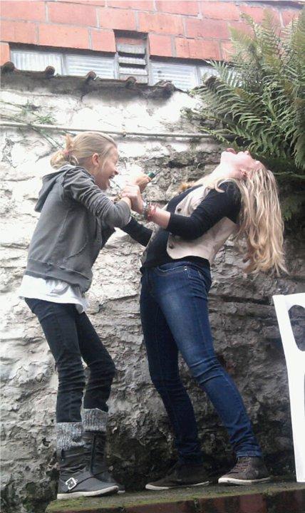 Marie et Pauline Du pont de La bille ♥