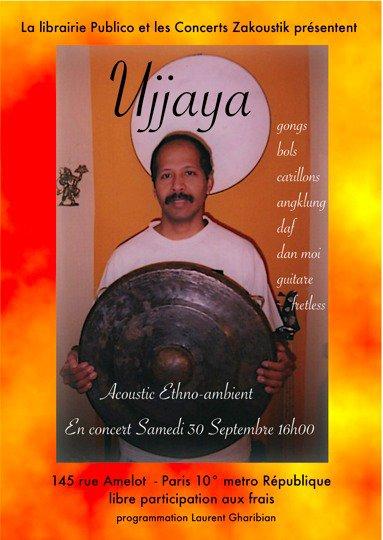 Ujjaya en concert ethno-ambient acoustique