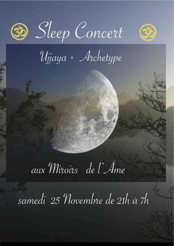 Sleep Concert aux Miroirs de l'Âme, Paris 18°