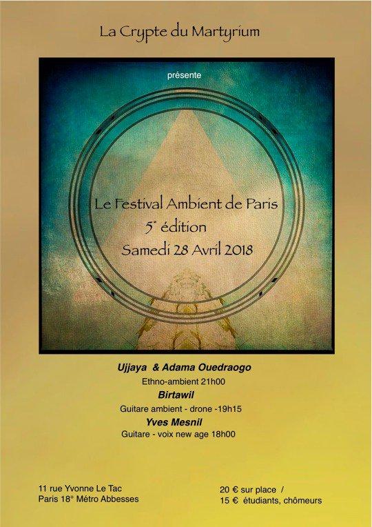5° Festival Ambient de Paris